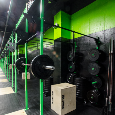 Reebok Fit Hub Store + CrossFit Gym Opens in New York City