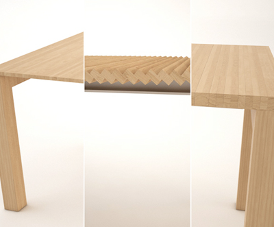 How the Heck Does This Work? Julien Vidame's Convention-Defying Extendable Table