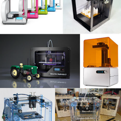 A Database of 120 Different 3D Printers, With Prices & Stats