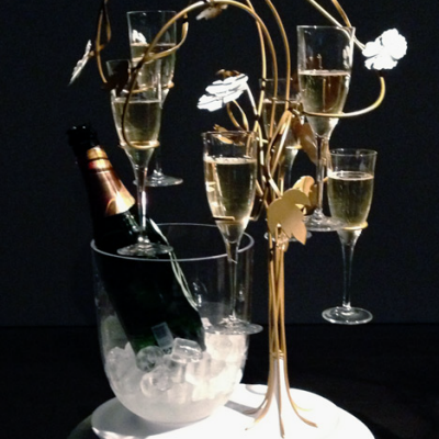 If Champagne Grew On Trees: 'The Enchanting Tree' by Tord Boontje for Perrier-Jouet
