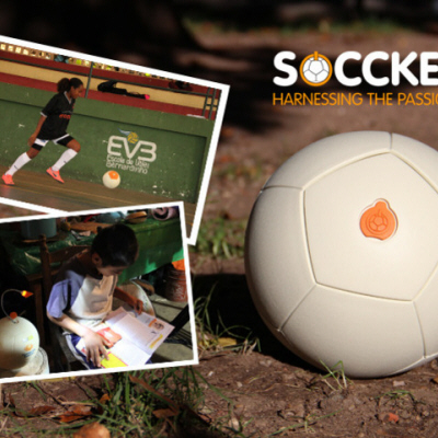 The Soccket Play-Powered Portable Generator Gives New Meaning to 'Kick-Starting'