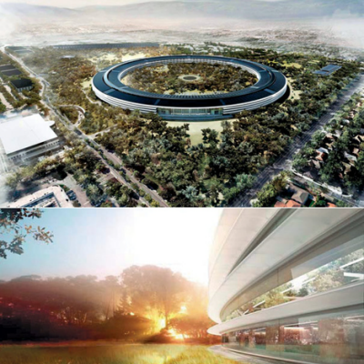 "Corporate HQ Superdesigns, Part 2: Apple ""Spaceship"" to Give New Meaning to the Term ""High Tolerance"""