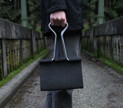 Things That Look Like Other Things: Clip Bag by Peter Bristol
