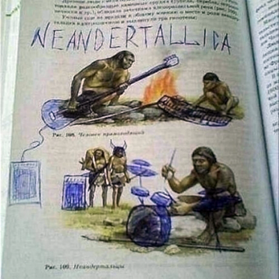 Creatively Defaced Textbooks