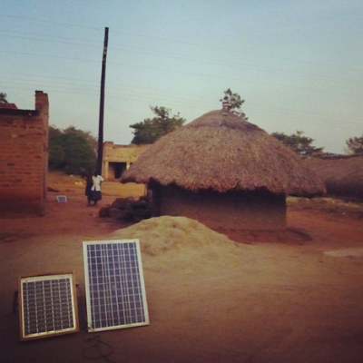 Notes from the Field: Solar Panels in Rural Uganda