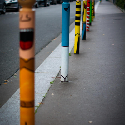Creatively Defaced Streetscapes