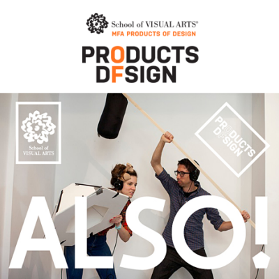NY Design Week Preview: ALSO! SVA MFA Products of Design at Wanted Design