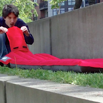 Ryan Frayne's Windcatcher Magnifies Human Breath, Enabling Super-Fast Inflation