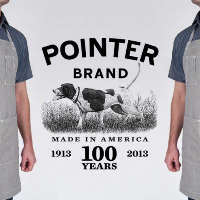 The Pointer Brand Hickory Stripe 3-Pocket Apron - 100 Years in the Making!