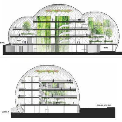 Corporate HQ Superdesigns, Part 3: Amazon Changes HQ Plans for Something More Designey