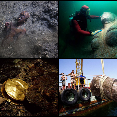 Underwater Archaeologist Franck Goddio Finds 1,600-Year-Old City that Vanished 1,200 Years Ago