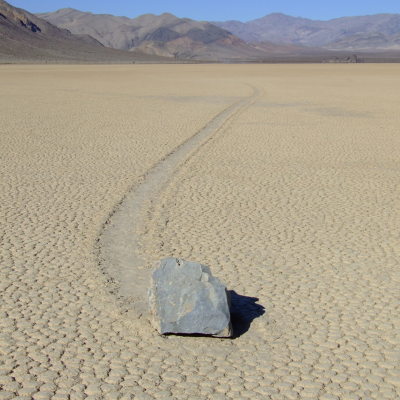Scientist Figures Out How Those Big-Ass 'Sailing Stones' Move Themselves Across Death Valley