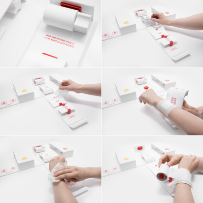 Gabriele Meldaikyte Redesigns the Home First Aid Kit