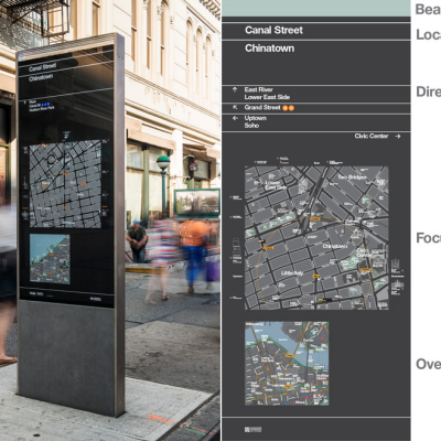 WalkNYC: Michael Bierut and Eoin Billings Offer a Closer Look at New York City's New Wayfinding Signage