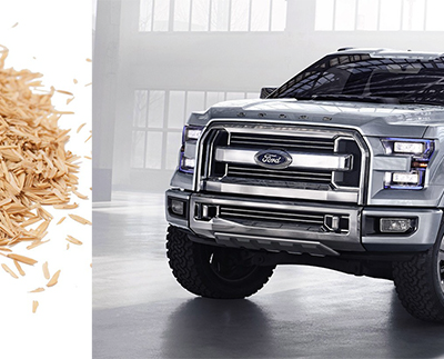 Sustainable Materials Creeping Into Ford's F-150. (Which is a Good Thing, Since It's Still Selling Like Hotcakes)