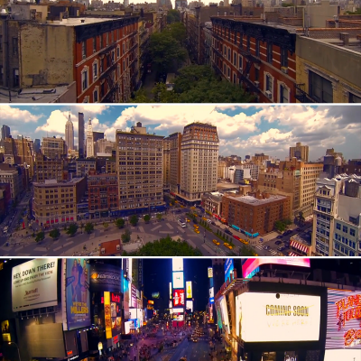 GoPro + Quadrotor + NYC = Awesome