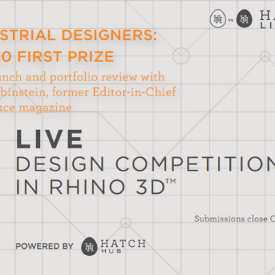 Show Off Your Design Skills at Hatch Live, a Real-Time Rhino-Off in NYC - Sign Up Today!