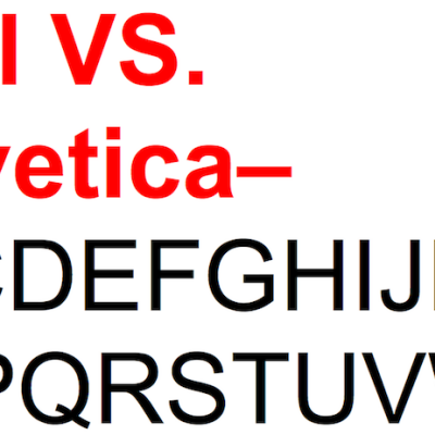 Can a GIF-Like Web Site Teach Typography?