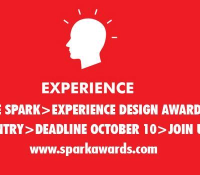 Call for Entries: Spark > Experience Design Awards 2013