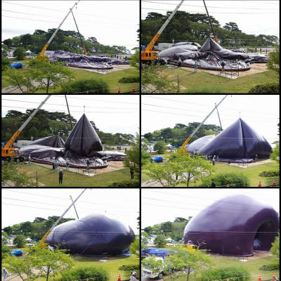 The Ark Nova, Japan's Traveling, Inflatable Concert Hall