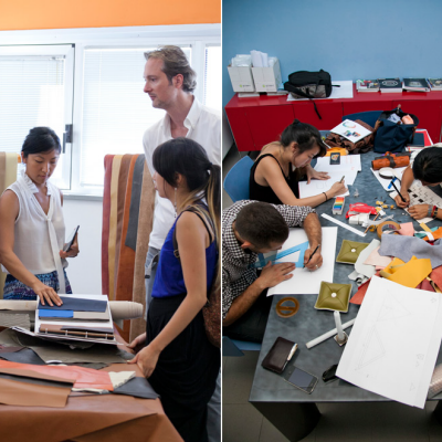 Parsons The New School for Design x Poltrona Frau: Designing for Wastelessness, Part 5 - Winning Students Visit Tolentino