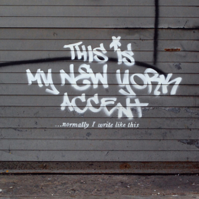 """Banksy's Tagging NYC For An October """"Residency"""""""