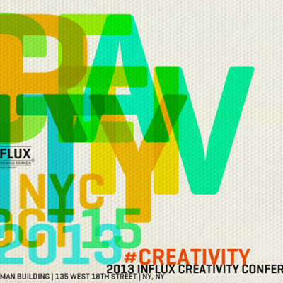 Find Out What Good Ideas are Made of at the Influx Creativity Conference