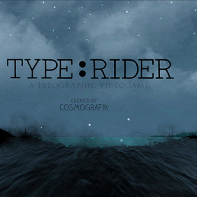 Learn the History of Typography Through Type:Rider, a Super Mario-Esque Game for Your Smartphone