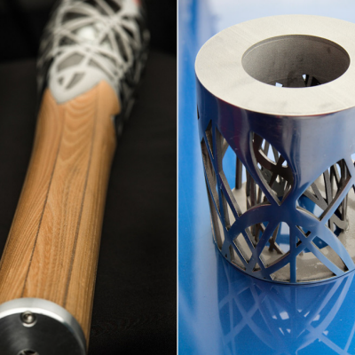 4c Design's Baton for the XX Commonwealth Games Combines Cutting-Edge 3D-Printed Titanium with a Millenium-Old Woodworking Technique