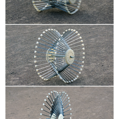 'Roadless': Ackeem Ngwenya's Amazing All-Terrain Shape-Shifting Wheel Design
