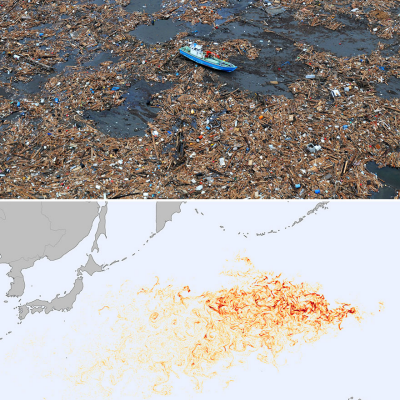 Bad News: 1.5 Million Tons of Floating Japanese Tsunami Garbage is Headed for North America--and It's Got Hitchhikers