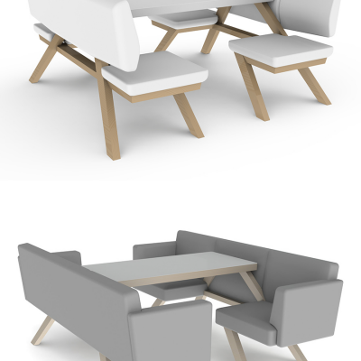 Jules Vreeswijk and Joost Waltjen's TOOaPICNIC Series of Hybrid Furniture