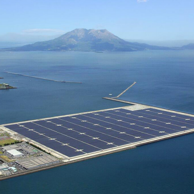 New, Massive Solar Power Plant Goes Online in Japan