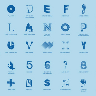 Free Arts NYC Recreates the Alphabet with Help from a Few Designer Friends