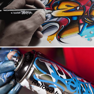 The Best Mass-Graffiti Time-Lapse You'll Ever See