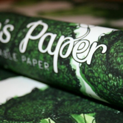 Eden's (Plantable) Paper Takes the Cake When it Comes to Holiday Gift Wrapping Must-Haves