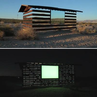 'Lucid Stead,' Phillip K. Smith III's Suh-Weet Mirrored Desert Cabin