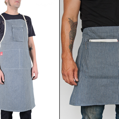 New from Hand-Eye Supply: Portland-Made Wide Stripe Aprons