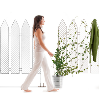 'Plantala' by Andrea Rekalidis Nails Functionality as a Planter/Coat Rack (For Those Without a Green Thumb)