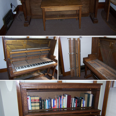 More Repurposed Pianos