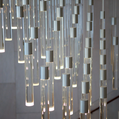 It's a Chandelier... It's an Installation... No, It's a Map!