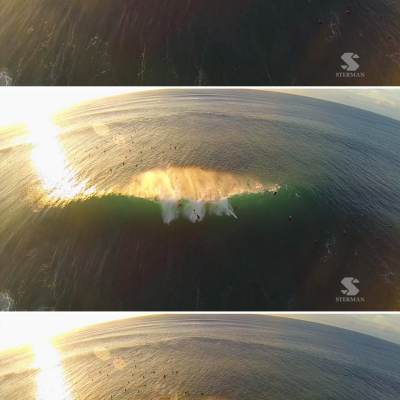 Must-See Video: Surfing, as Seen from Overhead, Looks More Amazing Than Usual