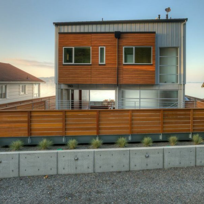 Yea or Nay? Tsunami-Resistant House Design Features Breakaway Glass Walls