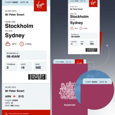 Peter Smart's Better Boarding Pass Redesign