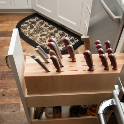 Designing for Knife Storage, Part 2: Beyond Knife Blocks and Wall Racks