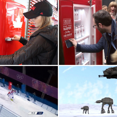 Winter Olympics Hi-Jinks: Beer 'Fridge Only Opens for Canadians, Pesky Imperial Walkers Disrupt Ski Event