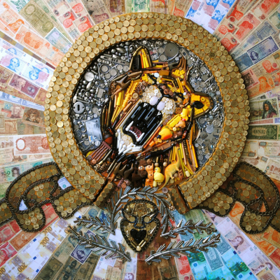 Elisa Insua's Assemblage Mosaics Turn Everyday Junk Into Giant Games of 'I Spy'