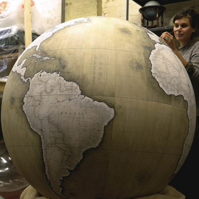 Bellerby & Co. Globes: Paper-Covered Balls That Will Leave You Breathless