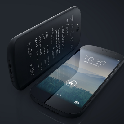 Brilliant Smartphone Design from Yota: Two Screens, and One's Persistent