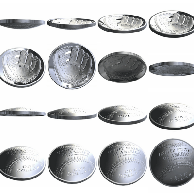 U.S. Mint to Launch 3D Coins This Month